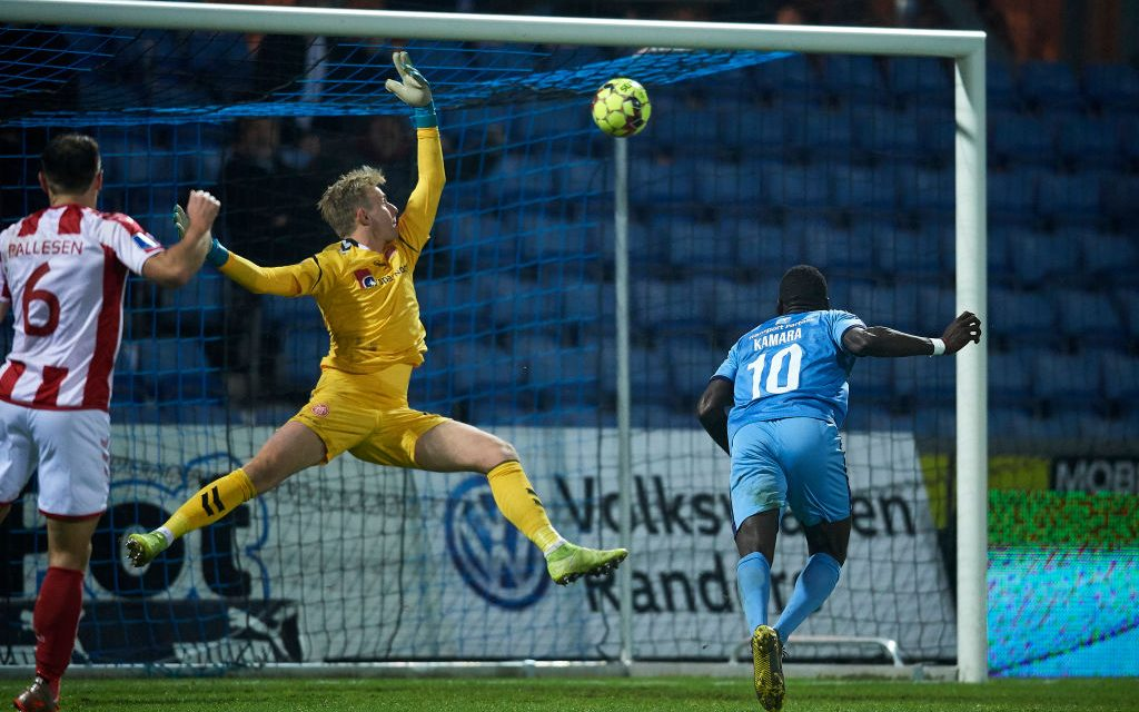 Kamara nets for Randers in six-goal thriller at Cepheus Park