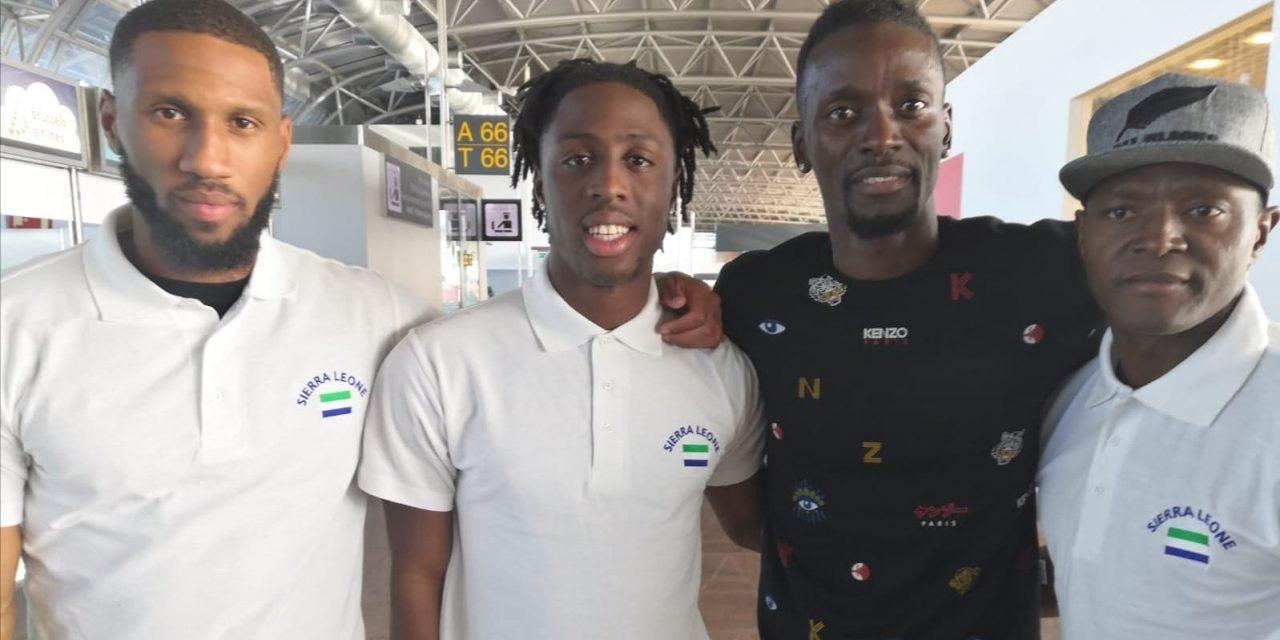 Sesay, Kamara, Kakay among players to arrive today