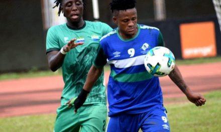 Recap: Sierra Leone held at home by Lesotho as Nigeria top group