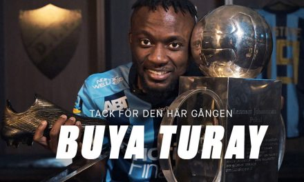 Buya Turay leaves Swedish champions Djurgården
