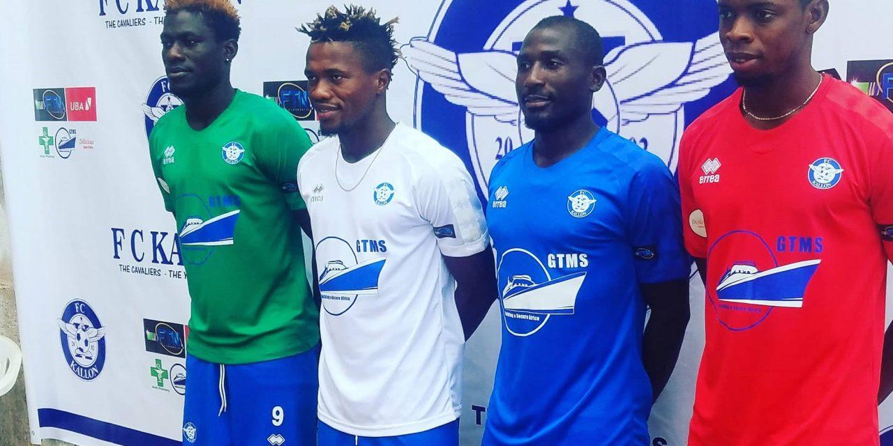 FC Kallon unveil new kits for 2019/20 league campaign