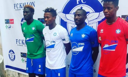 FC Kallon unveil new kits for 2019/20 league campaign