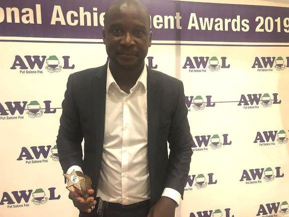 John Keister wins AWOL Sports Personality of the Year 2019