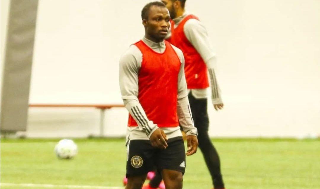 Sierra Leone midfielder Conteh trains with MLS club