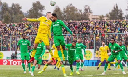 CAFCL: Referee rescue after Kabylie denied penalty