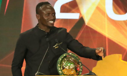 Senegal's Mane delighted after winning 2019 African Player Award