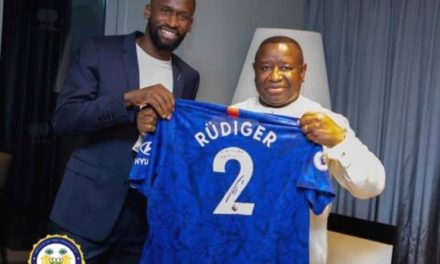 Windfall for President Bio's Free Quality Education from Chelsea defender