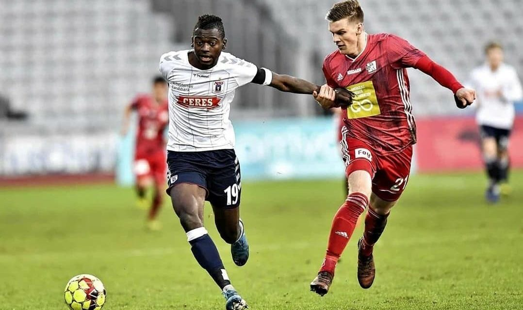 Striker Bundu nets brace in Danish Cup quarter-final tie