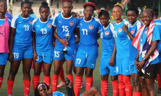 Liberia WAFU women's team