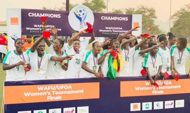 Senegal crowned winners of maiden WAFU Zone A Women's Cup
