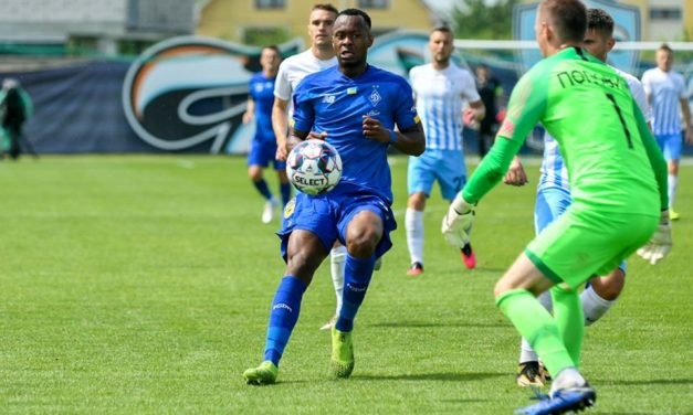 Kargbo made his official  Dynamo Kyiv debut in Cup semi-final win