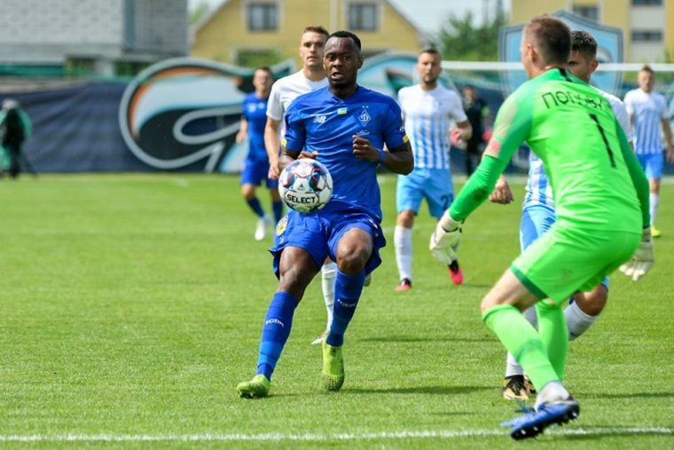 Kargbo Jnr makes Dinamo Kyiv debut in cup win over Minai