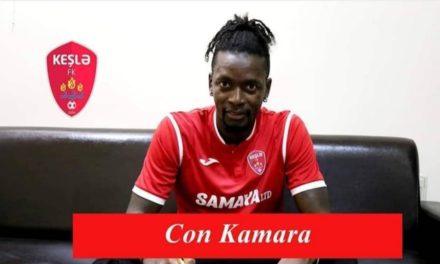 John Kamara signs new Keshla contract extension