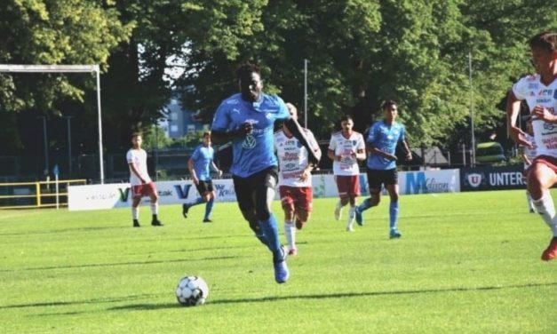 Alhassan Kamara returns with a goal after 19 months out