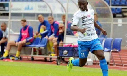 Varnamo striker Kargbo pleased with the run of scoring form