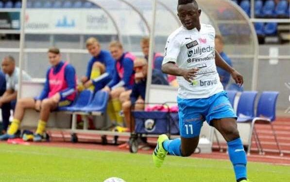 Varnamo striker Kargbo pleased with the run of scoring form