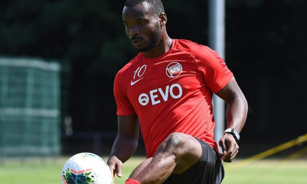 Kickers Offenbach striker Kargbo frustrated over injury setback
