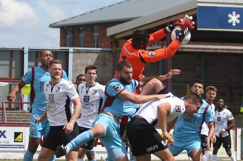 Sesay misses out on National League promotion with Dartford