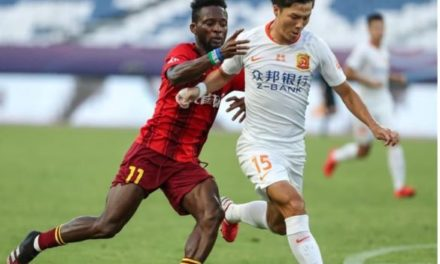 Buya Turay nets first Fortune's goal in win over Wuhan Zall