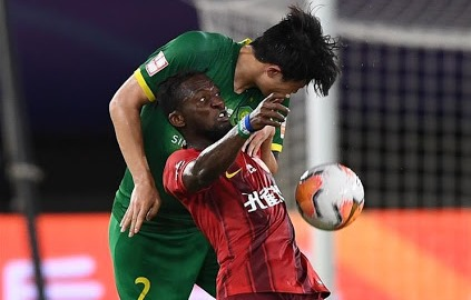 Striker Buya Turay makes first Hebei China Fortune start in defeat