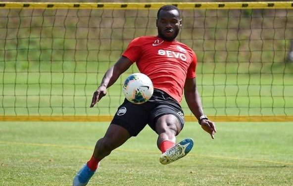 Kickers Offenbach challenge excites striker Abubakarr Kargbo