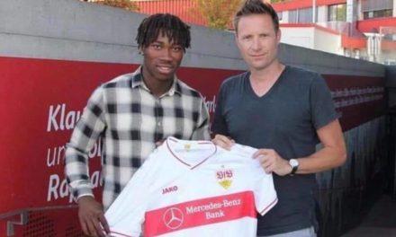 Sierra Leone's native Sankoh joins German side VfB Stuttgart