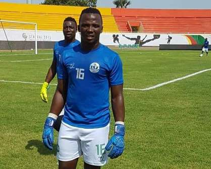 EE Lions keeper Kamara ready to play again after eight-months out