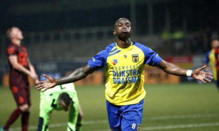 Creative midfielder Kallon named in Eerste Divisie Team of the Week