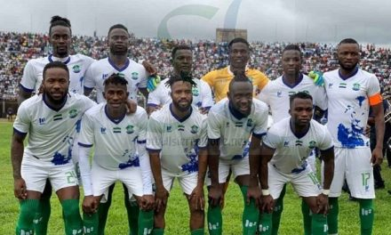 Sierra Leone line up Mauritania friendly in Nouakchott