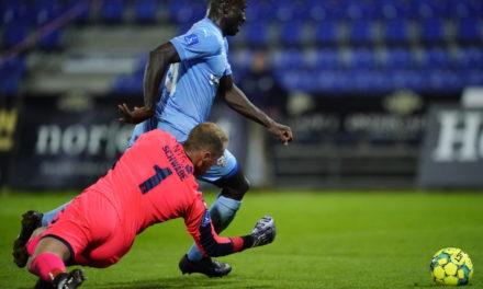 Alhaji Kamara nets in Randers Superligaen defeat
