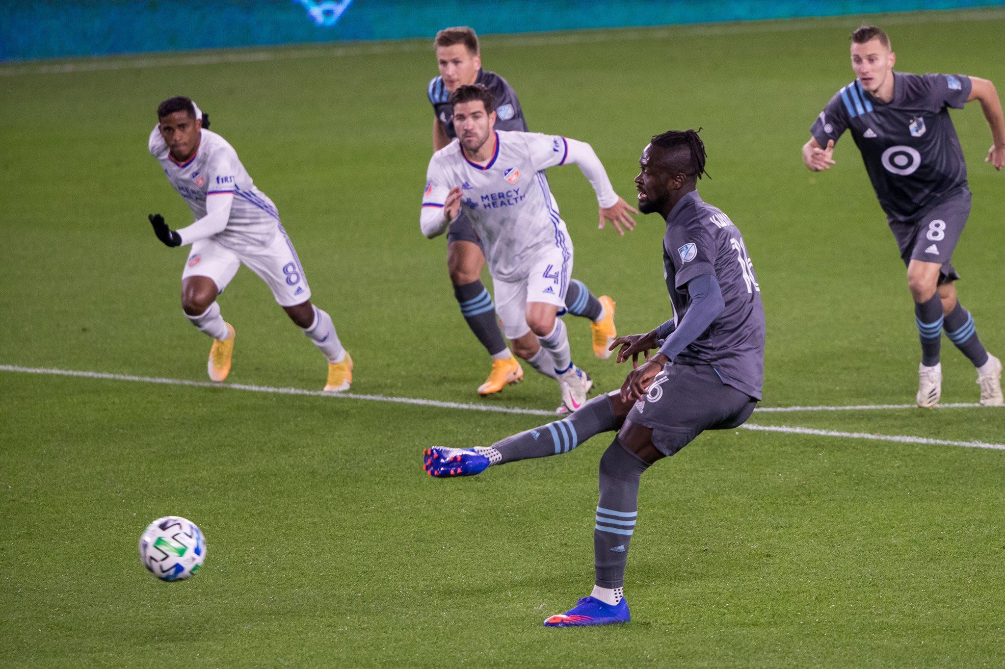 Kei Kamara on target as Minnesota beat Cincinnati