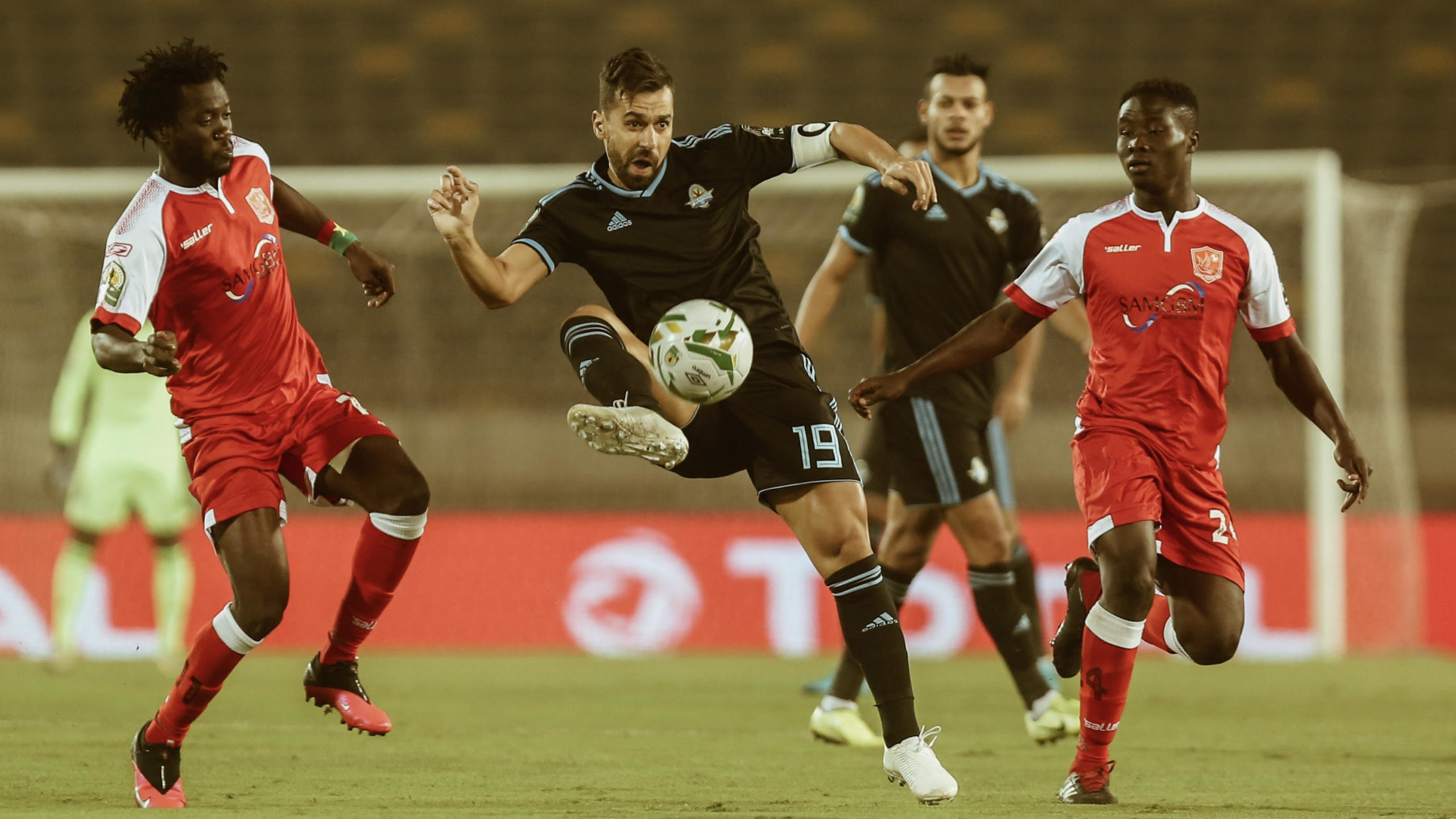 Late goals inspire Pyramids to CAF Confed Cup final