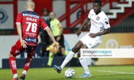 Recap: Mustapha Bundu starts as Anderlecht ease past Kortrijk