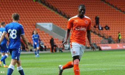 Sullay Kaikai nets Blackpool's winner on return from injury