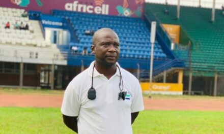 Sierra Leone Coach John Keister calls for a positive approach