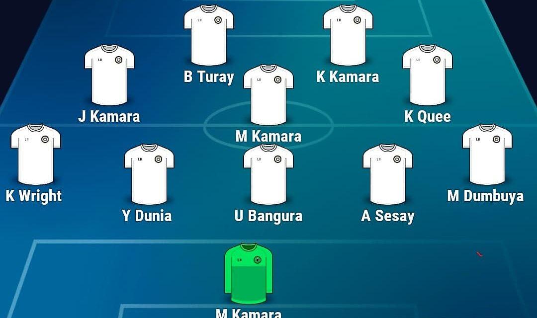 Buya, Kei Kamara in attack, official debut for Kevin Wright