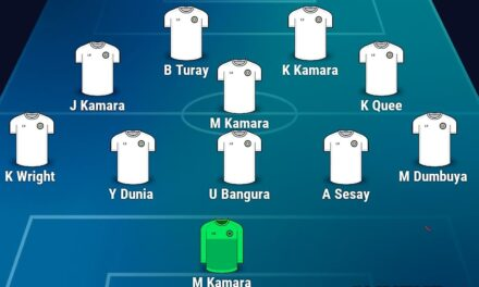 Buya, Kei Kamara in attack, official debut for Kevin Wright