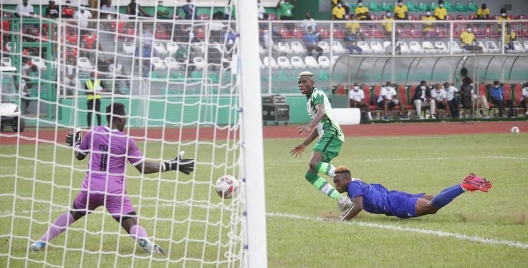 AFCON: Eagles wings nearly clipped in Benin by resilient Leone Stars