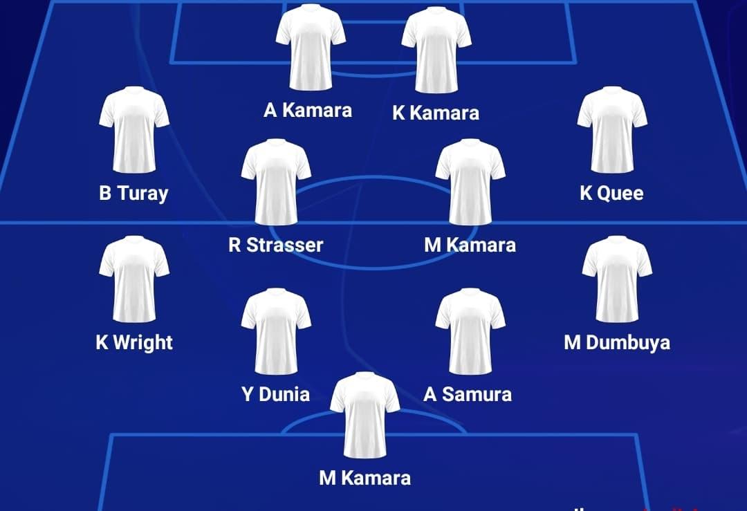 FC Kallon's Samura in for skipper Bangura, Kei, Alhaji in attack