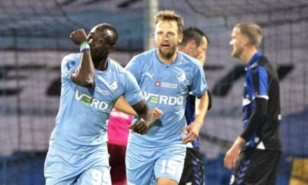 Two goals in two 3F Superliga games for striker Kamara