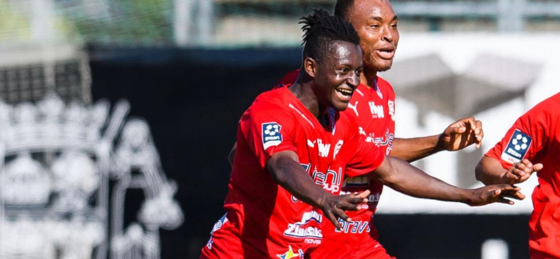 Top scorer Michael Kargbo thrilled after Värnamo's promotion