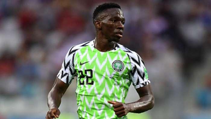 Nigeria blow: Defender Omeruo to miss Nigeria, S/Leone tie