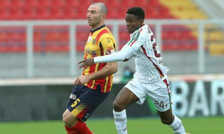 Augustus Kargbo opens his Reggiana Serie B account