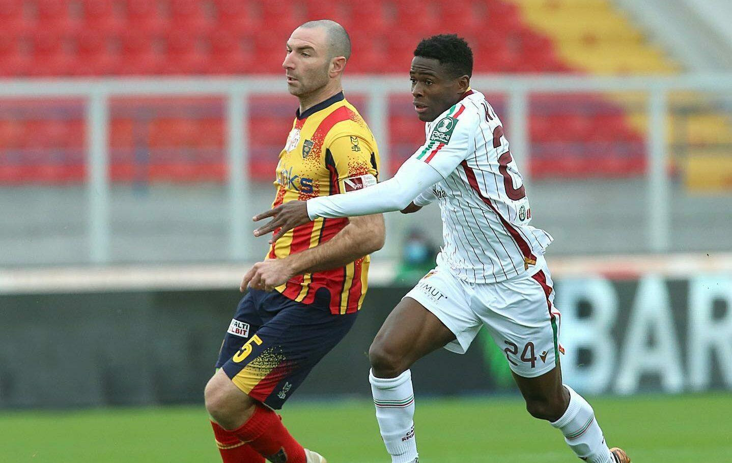 Augustus Kargbo opened his Reggiana account this season