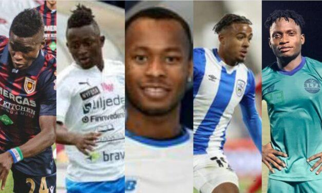 Five rising Sierra Leonean footballers in Europe in 2020