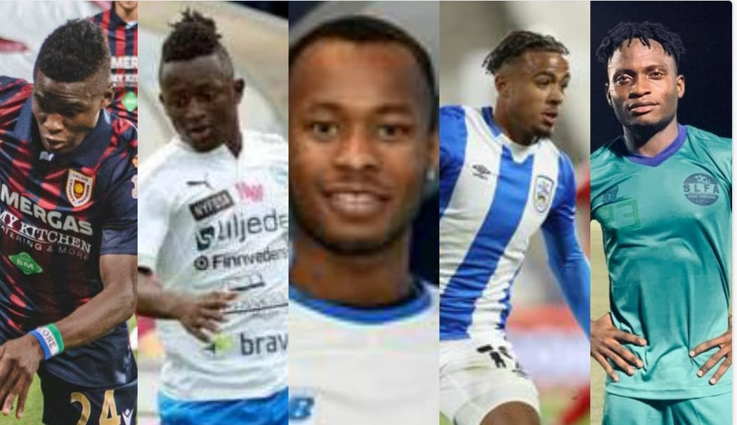 Five rising Sierra Leonean footballers in Europe in 2020