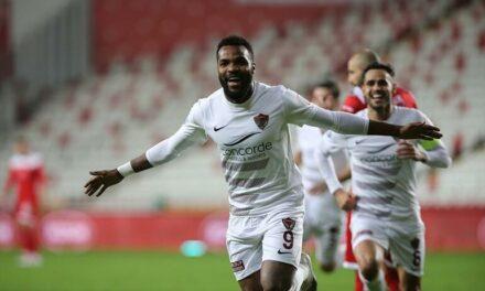 Gabon's striker Aaron Boupendza takes Hatayspor's tally to nine