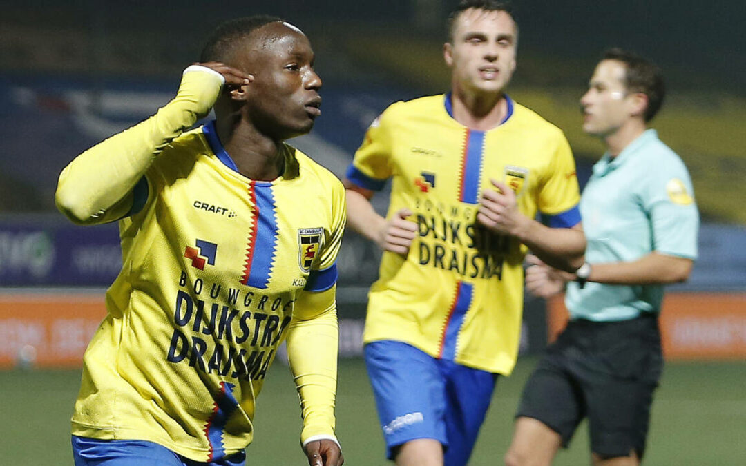 Issa Kallon nets as Cambuur tighten top table grip