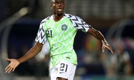 Nigeria striker Victor Osimhen tests positive for Covid-19