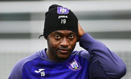 Anderlecht striker Mustapha Bundu linked with a loan move to Copenhagen
